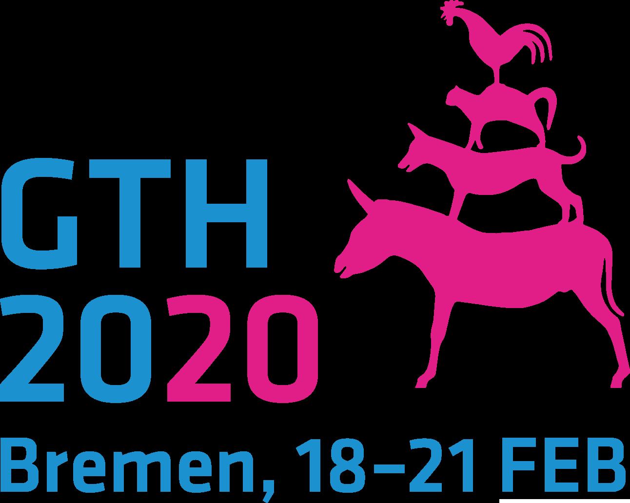 Webseite und Flyer GTH 2020