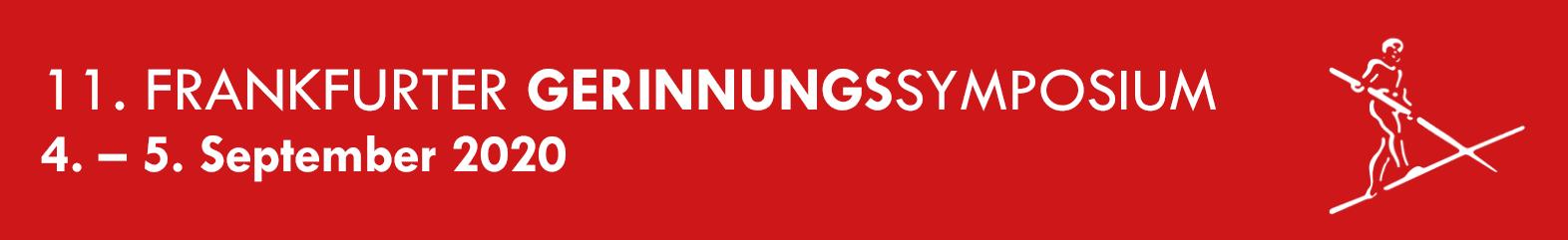 11. FRANKFURTER GERINNUNGSSYMPOSIUM