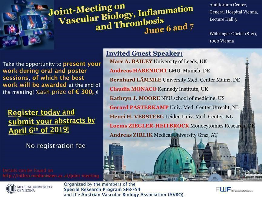 Joint-Meeting on Vascular Biology, Inflammation and Thrombosis